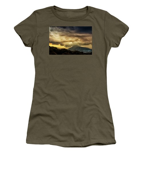 Old Rag View Overlook Women's T-Shirt (Athletic Fit)