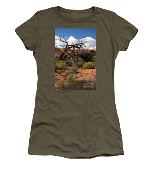 Old Tree In Capital Reef National Park Women's T-Shirt