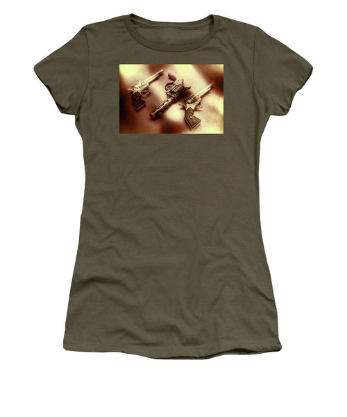Old Western At Play Women's T-Shirt