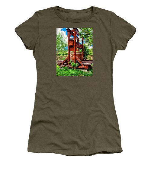 Old Wine Press Women's T-Shirt (Athletic Fit)