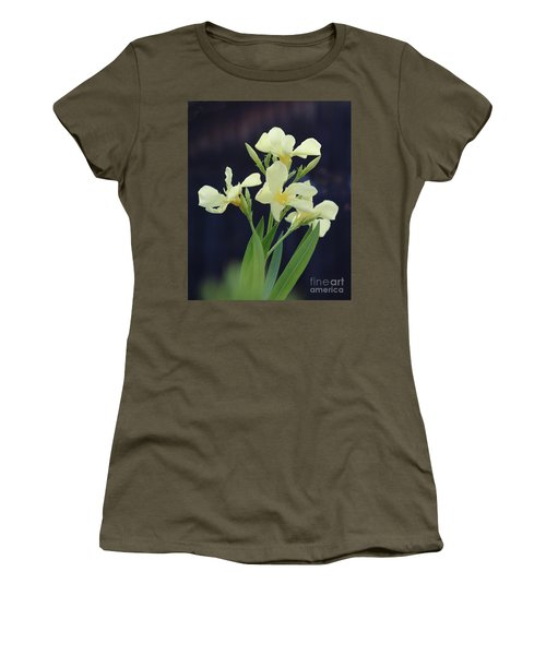 Women's T-Shirt (Junior Cut) featuring the photograph Oleander Marie Gambetta 2 by Wilhelm Hufnagl