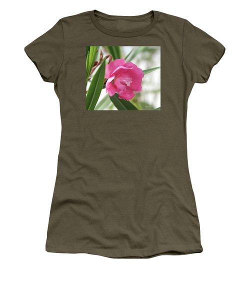 Oleander Splendens Giganteum 3 Women's T-Shirt (Junior Cut) by Wilhelm Hufnagl