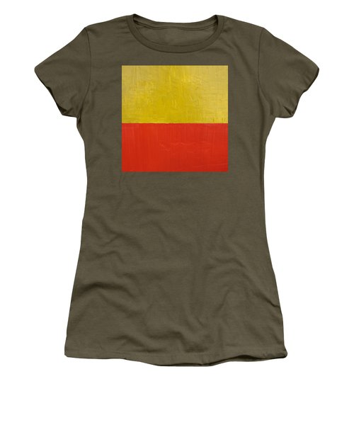 Olive Fire Engine Red Women's T-Shirt