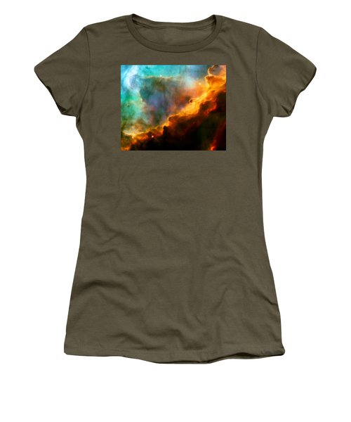 Omega Swan Nebula 3 Women's T-Shirt (Athletic Fit)
