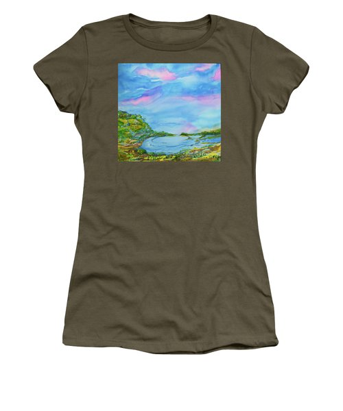 On A Clear Day Women's T-Shirt (Junior Cut) by Susan D Moody