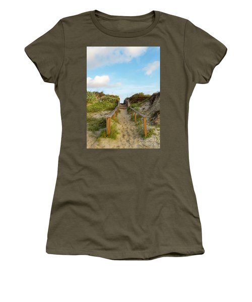 On The Boardwalk Women's T-Shirt