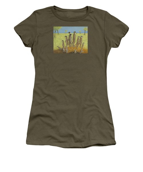 On The Lookout Women's T-Shirt (Athletic Fit)