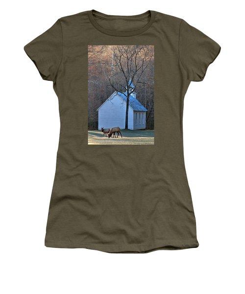 On The Way To Church Women's T-Shirt
