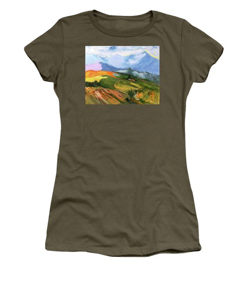 Once There Were Green Fields Women's T-Shirt (Athletic Fit)