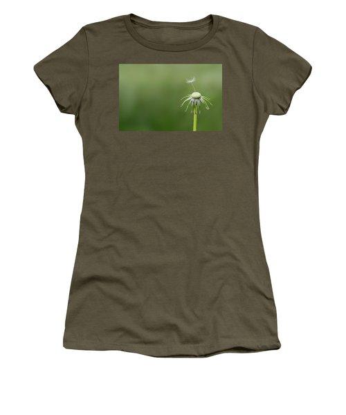 Women's T-Shirt (Junior Cut) featuring the photograph One Dandy by Bess Hamiti