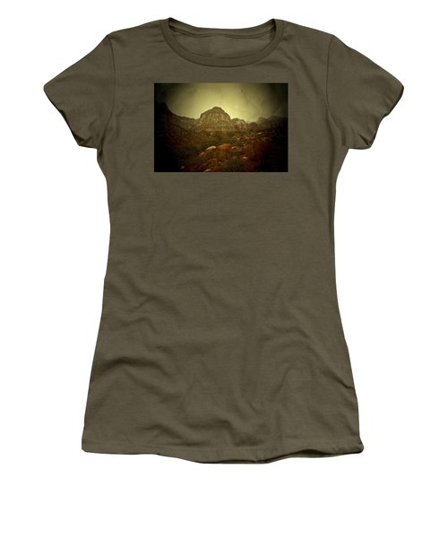 Women's T-Shirt (Junior Cut) featuring the photograph One Day by Mark Ross