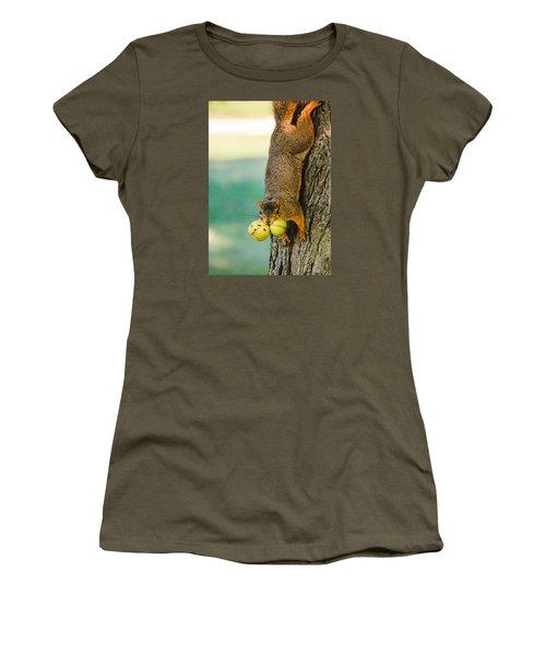 One Nut Is Never Enough Women's T-Shirt (Junior Cut)