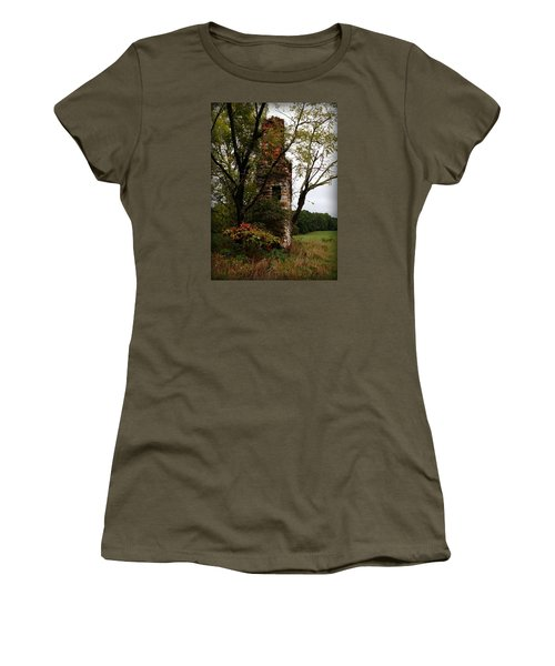 Only Thing Left Standing Women's T-Shirt (Junior Cut) by Katie Wing Vigil