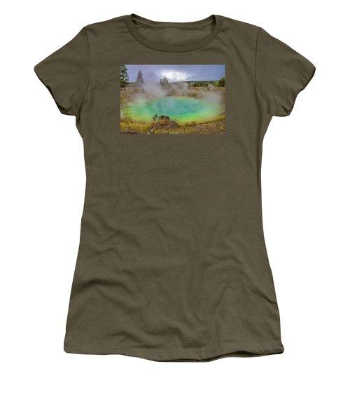 Opal Spring Yellowstone National Park Women's T-Shirt