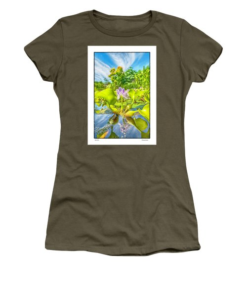 Women's T-Shirt (Junior Cut) featuring the photograph Open Arms by R Thomas Berner