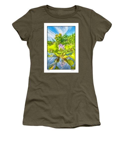 Open Arms Women's T-Shirt (Junior Cut) by R Thomas Berner