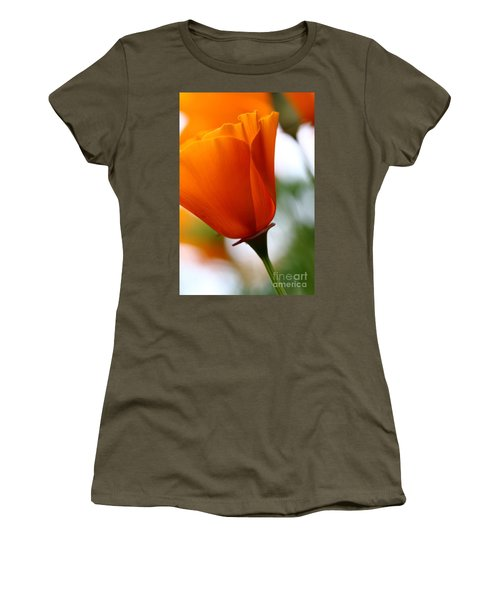 Orange California Poppy . 7d14789 Women's T-Shirt