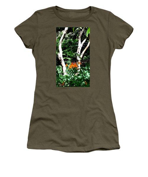 Orange Lilies Women's T-Shirt
