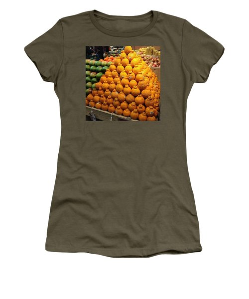 Orange You A Fan Of Terrible Puns? Women's T-Shirt (Junior Cut) by Kate Arsenault