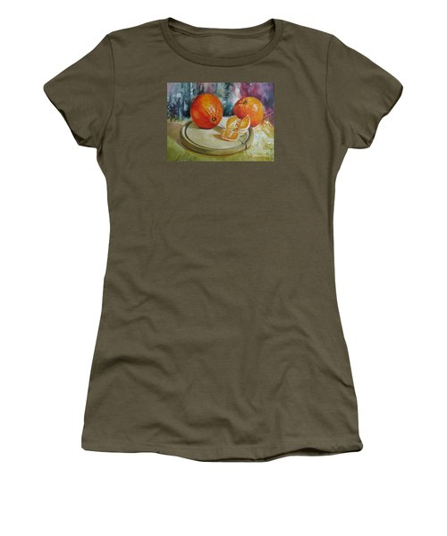 Oranges Women's T-Shirt (Junior Cut)