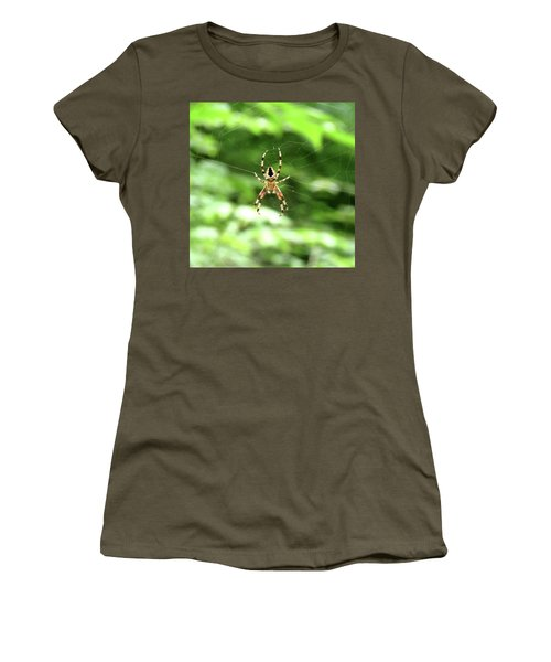 Orb Weaver Women's T-Shirt (Athletic Fit)
