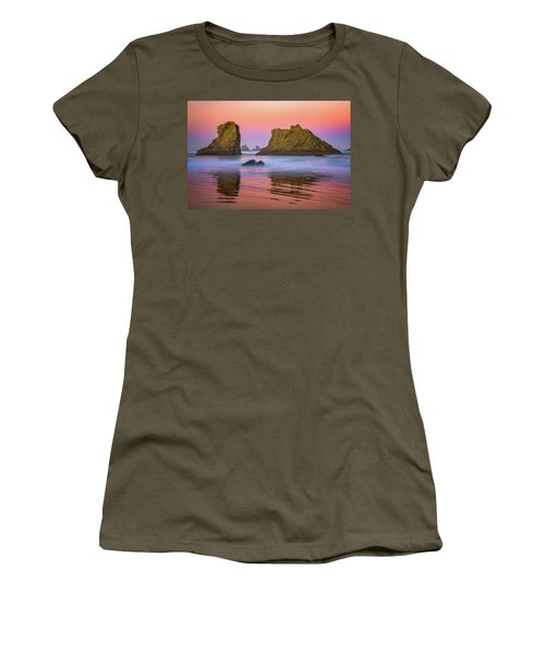 Women's T-Shirt (Athletic Fit) featuring the photograph Oregon's New Day by Darren White