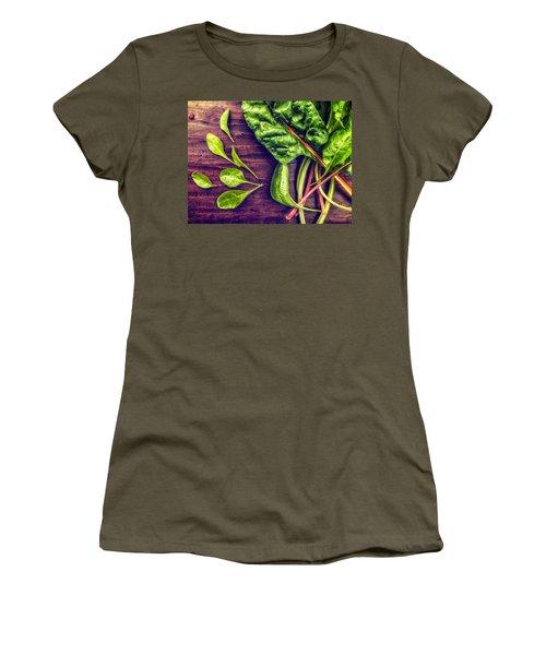 Organic Rainbow Chard Women's T-Shirt