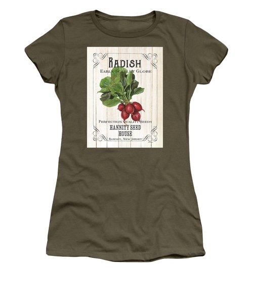 Organic Seed Packet 3 Women's T-Shirt (Junior Cut)