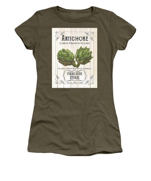 Organic Seed Packets 1 Women's T-Shirt (Junior Cut)