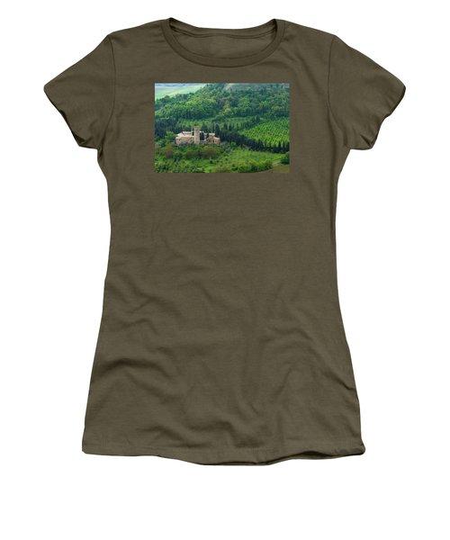 Orvieto Castle Women's T-Shirt (Athletic Fit)
