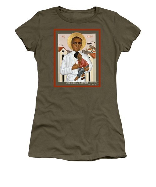St. Oscar Romero Of El Salvado - Rlosr Women's T-Shirt