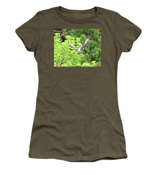Osprey Fishing Women's T-Shirt (Athletic Fit)