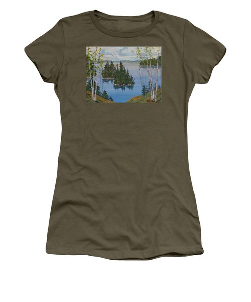 Osprey Island Study Women's T-Shirt (Athletic Fit)