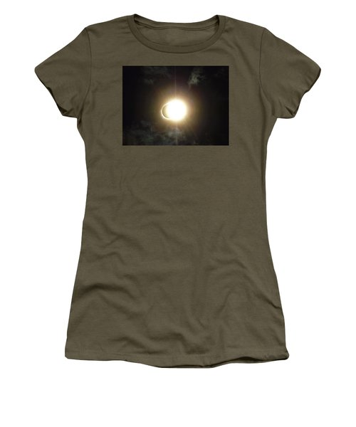 Otherworldly Eclipse-leaving Totality Women's T-Shirt