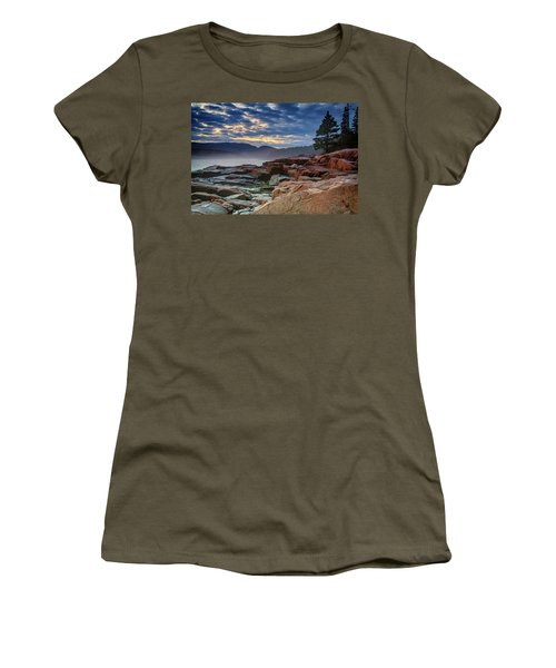 Otter Cove In The Mist Women's T-Shirt