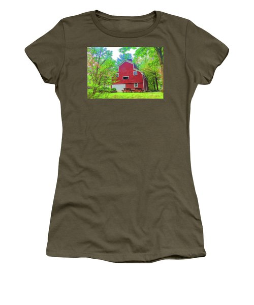 Out In The Country Women's T-Shirt (Athletic Fit)