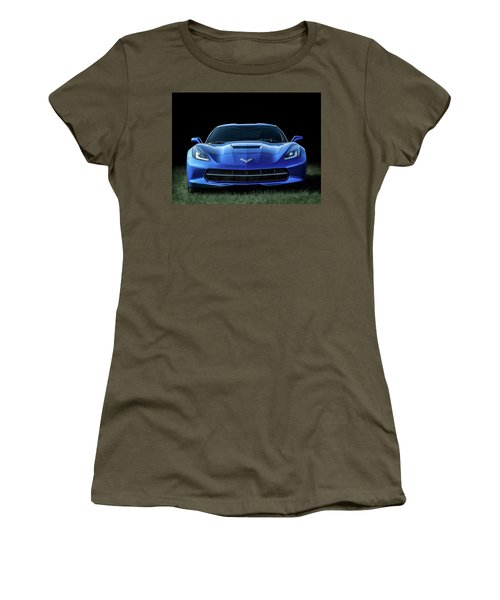 Out Of The Blue Women's T-Shirt (Junior Cut) by Douglas Pittman