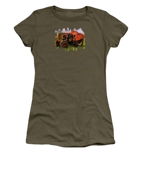Put Out To Pasture Women's T-Shirt (Athletic Fit)