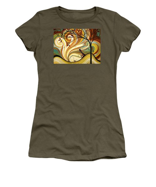Out West Original Madart Painting Women's T-Shirt
