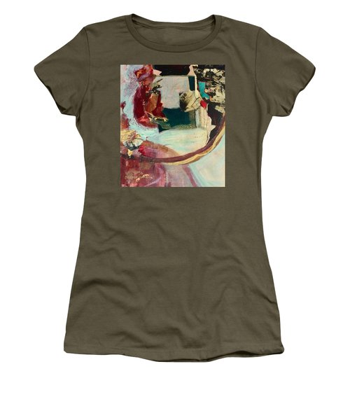 Outside The Realm Women's T-Shirt (Athletic Fit)