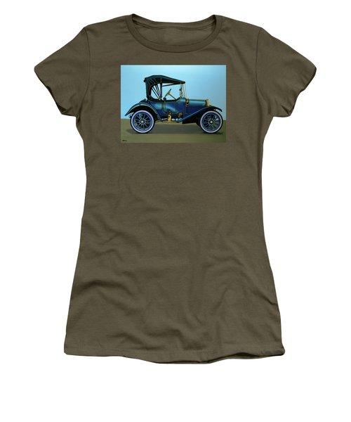 Overland 1911 Painting Women's T-Shirt (Junior Cut) by Paul Meijering