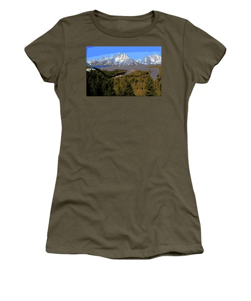 Overlook Women's T-Shirt (Athletic Fit)