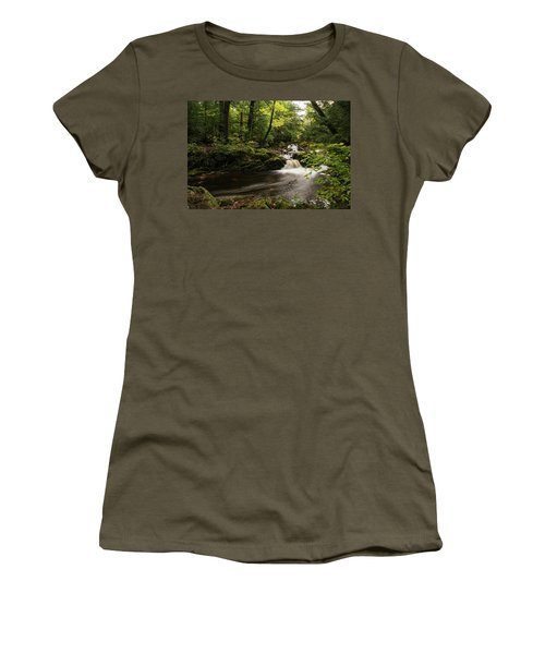 Overlooked Falls Women's T-Shirt (Athletic Fit)