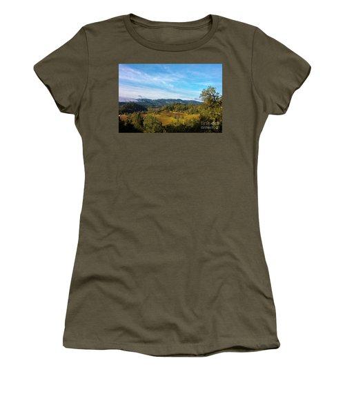 Overlooking The Vineyard Women's T-Shirt