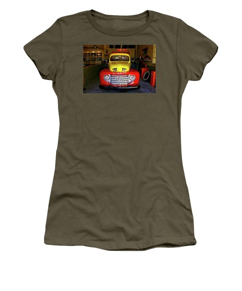 Overpainted 1950 Ford Pickup Women's T-Shirt