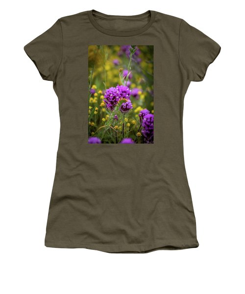 Women's T-Shirt (Junior Cut) featuring the photograph Owl's Clover by Peter Tellone