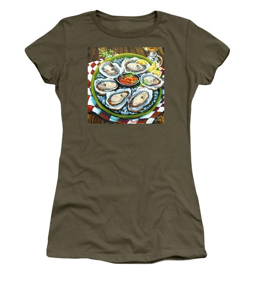 Oysters On The Half Shell Women's T-Shirt