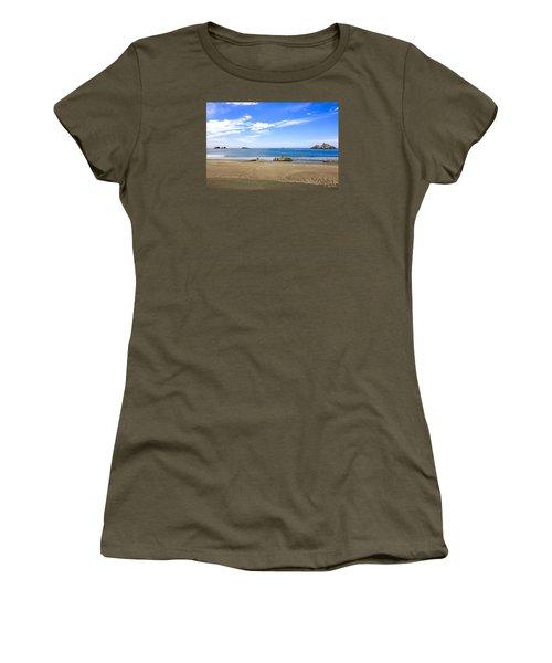 Pacific California Women's T-Shirt (Junior Cut) by Chris Smith