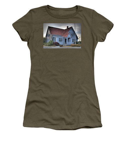 Painted Blue House Women's T-Shirt