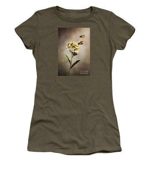Painted Hydrangeas Women's T-Shirt